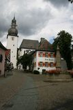 Arnsberg old city and church Stock Images
