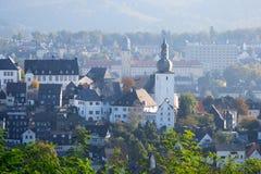 Arnsberg Sauerland Duitsland Royalty-vrije Stock Afbeeldingen