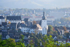 Arnsberg Sauerland Germany. Nice view over Arnsberg in Sauerland, Germany royalty free stock images