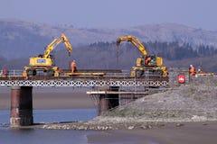 arnsidedäck kent som byter ut viaducten Arkivbilder