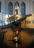 arnstadt bach教会德国图林根州 图库摄影