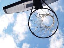 Aro de baloncesto Fotografía de archivo