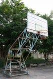 Aro de baloncesto viejo Foto de archivo libre de regalías