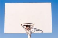 Aro de basquetebol Fotografia de Stock