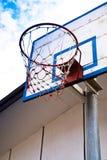 Aro de basquetebol. imagem de stock royalty free
