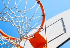 Aro de basquetebol Foto de Stock Royalty Free
