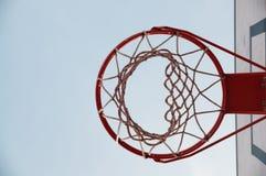 Aro de basquetebol Fotos de Stock