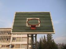 Aro de basquetebol ao ar livre Imagens de Stock Royalty Free
