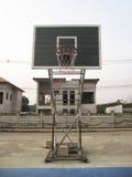 Aro de basquetebol ao ar livre Foto de Stock Royalty Free