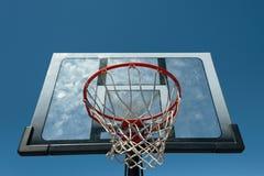 Aro de basquetebol ao ar livre Foto de Stock