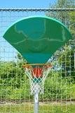 Aro de basquetebol de vista engraçada Imagens de Stock Royalty Free