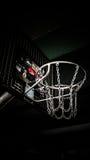 Aro de basquetebol em Berlim, Alemanha Imagem de Stock Royalty Free