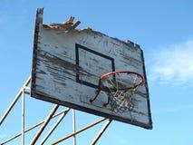 Aro de basquetebol velha Foto de Stock