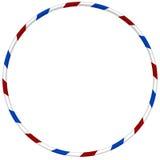 Aro de Hula con azul y rojo rayado libre illustration