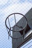 Aro 02 del bball de la jaula Fotos de archivo libres de regalías