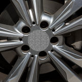 Aro del metal de una rueda Fotografía de archivo