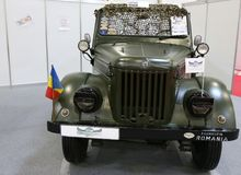 ARO M461 Γ σε SIAB, Romexpo, Βουκουρέστι, Ρουμανία Στοκ εικόνες με δικαίωμα ελεύθερης χρήσης