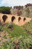 Arochny Bridge on Monte-Pellegrin mountain. Palermo, Sicily, Italy Royalty Free Stock Photo