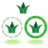 Aroe vera logo Royalty Free Stock Photo