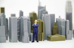Arogant Business Man Stock Image