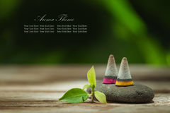 Aroma banner Royalty Free Stock Photos