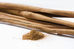 Aroma of cinnamon Stock Photos