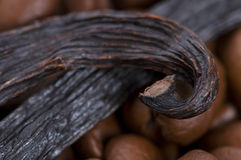 Aroma coffe. ingredients Royalty Free Stock Images