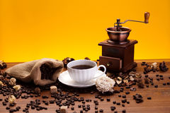 Aroma coffee Royalty Free Stock Photo