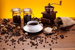 Aroma coffee Royalty Free Stock Images