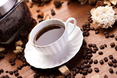 Aroma coffee Stock Photography