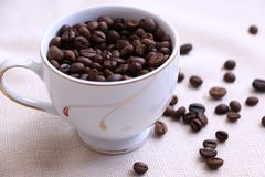 The Aroma of Coffee Beans royalty free stock photo