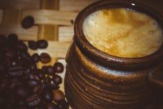 Aroma coffee Stock Image