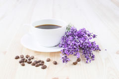 Aroma coffee cup. Stock Image