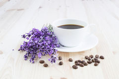 Aroma coffee cup. Royalty Free Stock Photos