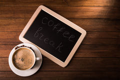 Aroma coffee cup Royalty Free Stock Images
