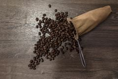 The aroma of coffee overflows royalty free stock photography