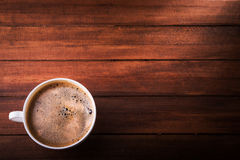 Aroma cup of coffee Royalty Free Stock Photography