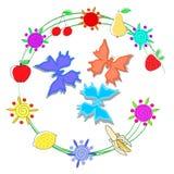 Aroma de la fruta y de las bayas libre illustration