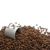 Aroma dei chicchi di caffè Fotografia Stock Libera da Diritti