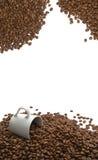 Aroma dei chicchi di caffè Fotografia Stock