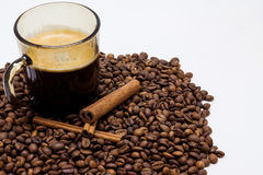 Aroma 1 del café Imagenes de archivo