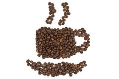 Aroma des Kaffees Stockfoto