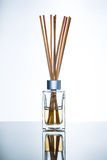 Aroma diffuser with bamboo sticks Stock Image