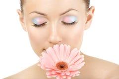 Aroma einer Blume lizenzfreie stockfotografie
