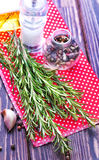 Aroma herb and spice Stock Images