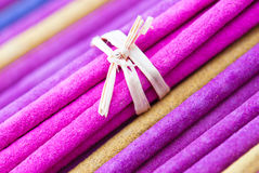 Aroma incense sticks Royalty Free Stock Photo