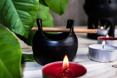 Aroma lamp Stock Images