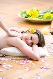 Aroma massage Stock Photography