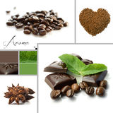 Aroma Montage (coffee shop) Royalty Free Stock Photos