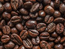 Aroma natural coffee beans Royalty Free Stock Images